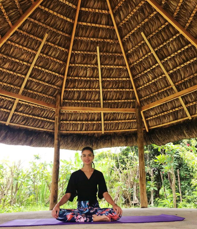 international meditation teaching graduate Frida