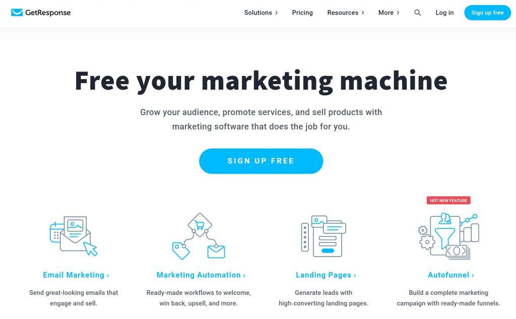get response marketing tool