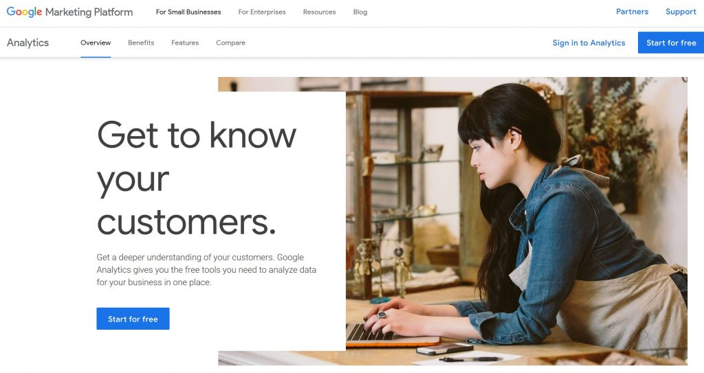 google analytics marketing tool