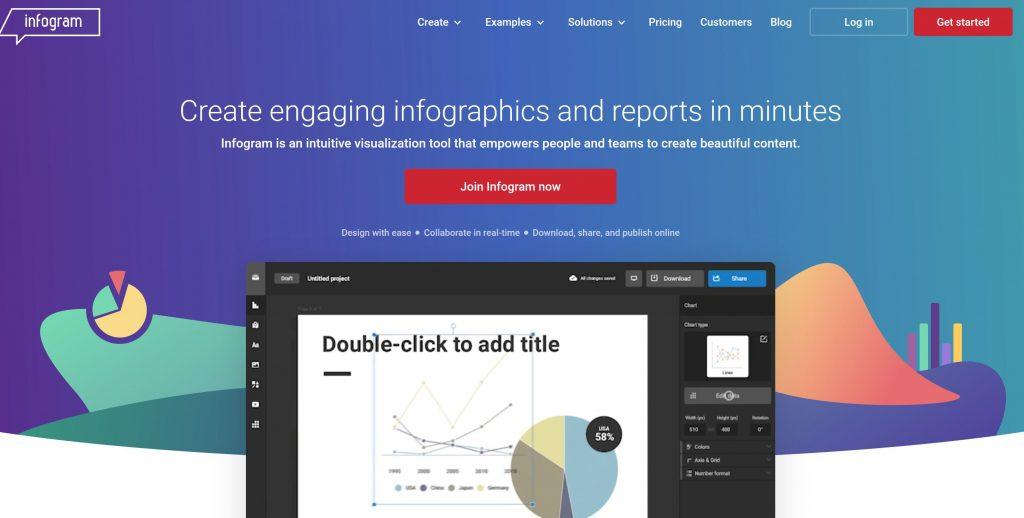 infogram marketing tool